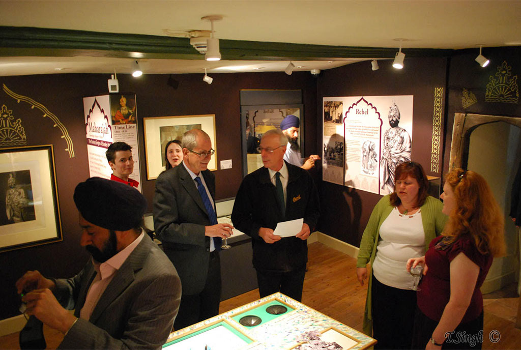 Maharaja Duleep Singh exhibition in 2011 at Thetford Museum