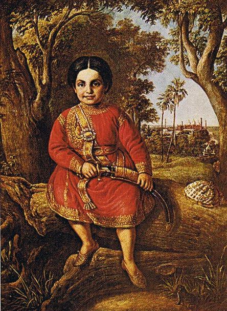 Maharajah Duleep Singh, 1842