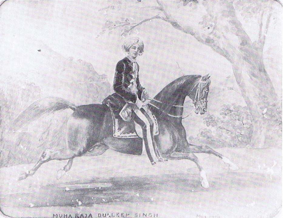 Maharajah Duleep Singh, 1852