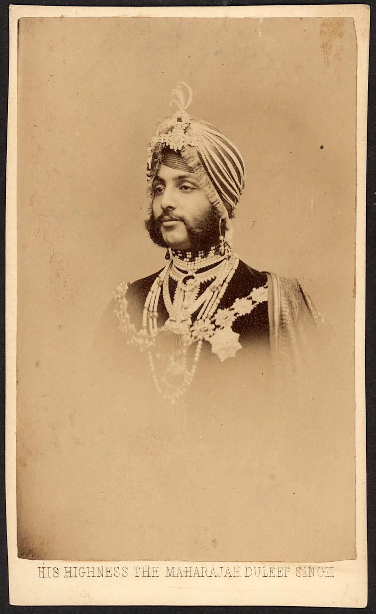 Maharajah Duleep Singh, 1861