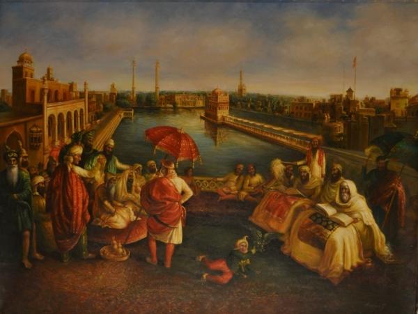 Maharajah Ranjit Singh at Amritsar
