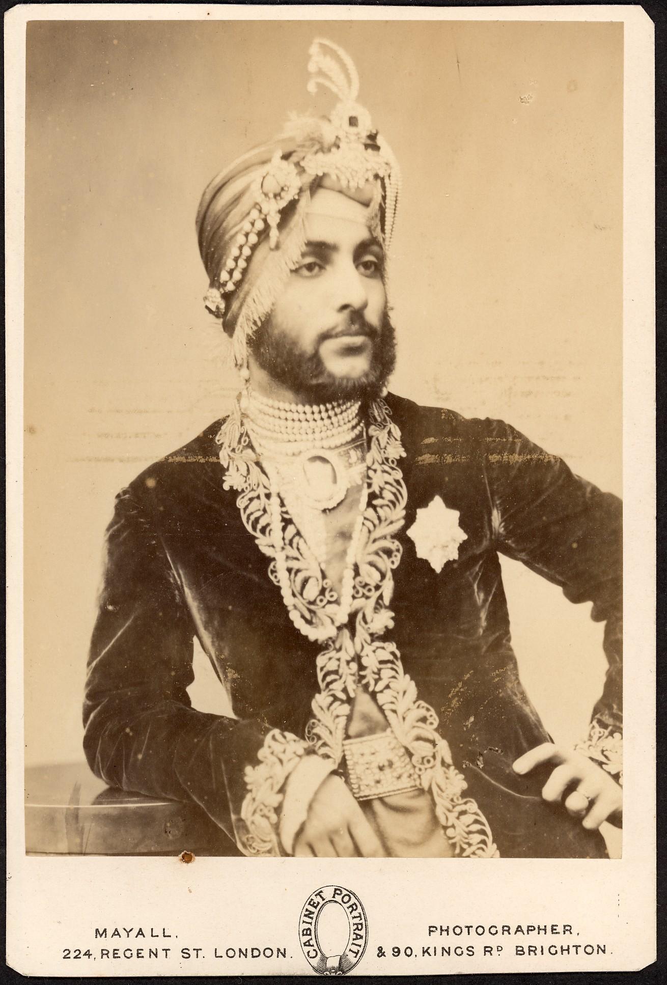 Maharajah Duleep Singh, 1859
