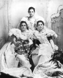 The Princesses at their Debutants Ball, 1895