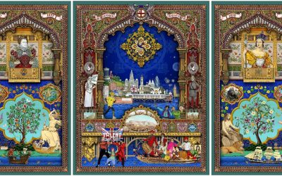 SinghTwins Artwork features Duleep Singhs