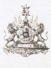 Bookplate of Maharajah Duleep Singh